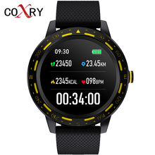 COXRY Sport Smart Watch Men Android Blood Pressure Oxygen Heart Rate Monitor Bluetooth SMS Smartwatch Women Watches For Iphone newest r5 smart watch heart rate blood oxygen camera alarm clock sport smartwatch for iphone xiaomi samsung android ios watches