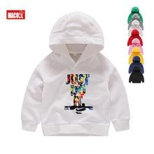 New Autumn Fashion Hoodies Boys  2019 Long Sleeve Solid Color Hooded Sweatshirt Hoodie 2T-8T