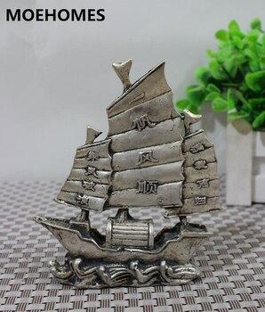 Китай Антигуа фэншуй паз, buena suerte tibet plata vela estatua decoración del hogar regalo Artesania de metal