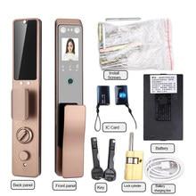 Realhelp-cerradura inteligente de puerta para uso en casa y apartamento, reconocimiento facial por infrarrojos 3D, cerrojo facial inteligente de venas de Palma