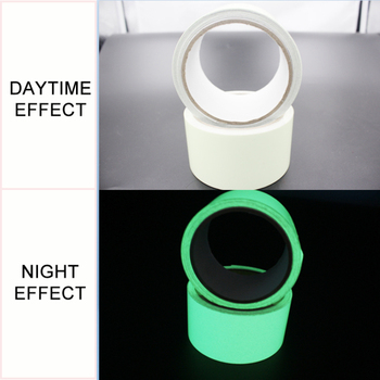 1cm X 1M Luminous Fluorescent Night Self-adhesive Glow In The Dark Sticker Tape Safety Security Home Decoration Warning Tape 3