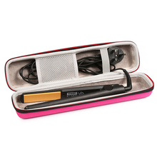 EVA Hair Straightener Case for Ghd V Gold Classic Styler Storage Bag Handbag Portable Travel Carrying Bag Protective Case Cover cheap ZOPRORE Shell ZP-181105001 Black Pink 365*90*70mm 211g Portable Fashion Light and Great Protective Case Shockproof Portable Bag
