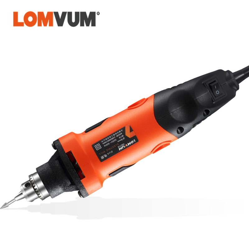 LOMVUM Abrasive Tools Electric Grinder Set Electric Drill Engraving Tool 350W 400W Speed Grinding Polishing Rotary Tool Drill