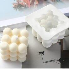 3D Irrégulière Silicone Bougie Moule Aromathérapie Bougie Moule BRICOLAGE À La Main Bougie Matériau Résine Moule Bougie Faisant Des Fournitures