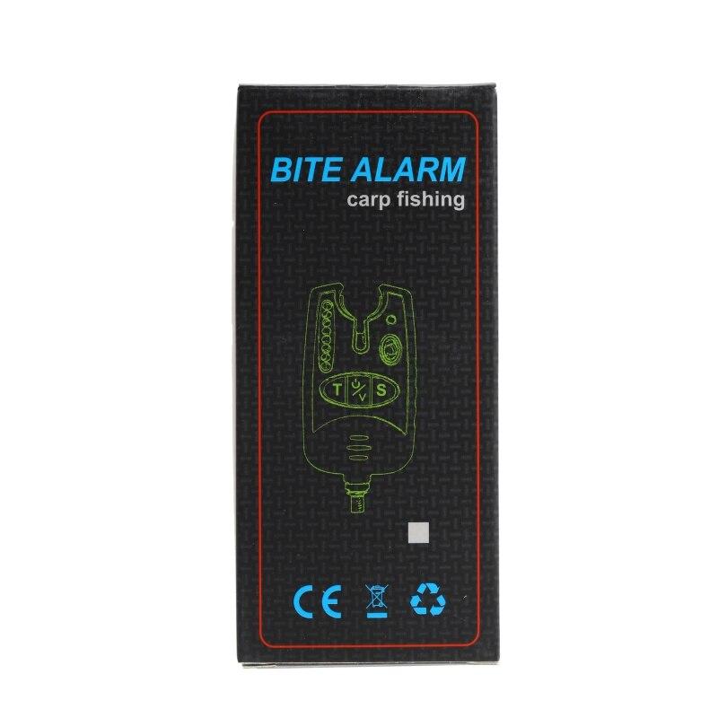 Fishing Bite LED Alarm Waterproof Adjustable Tone Volume Sensitivity Sound Alert Fishing Alarm Indicator Carp Fishing Tools New in Fishing Tools from Sports Entertainment