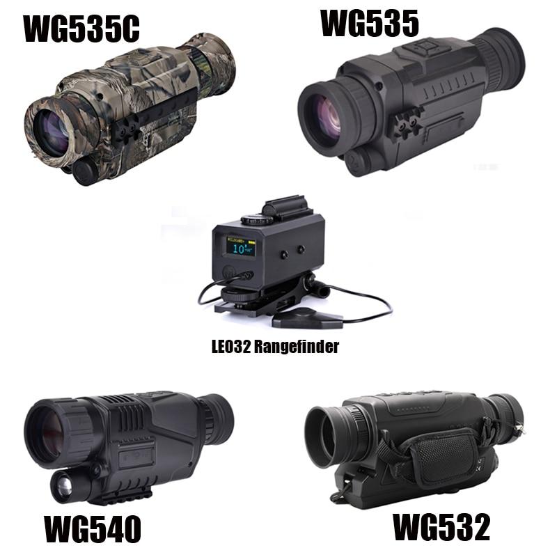 WG540 monoculaires de Vision nocturne numérique infrarouge avec carte 8G TF pleine obscurité 5X40 200M gamme optique de Vision nocturne monoculaire de chasse - 6