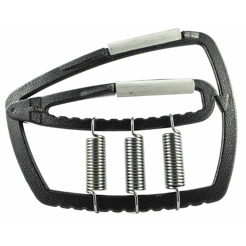 Fitness Forearm Strength Gym Tool Finger Exercise Sports With 3 Springs Muscle Adjustable Tension Hand Gripper Metal Portable