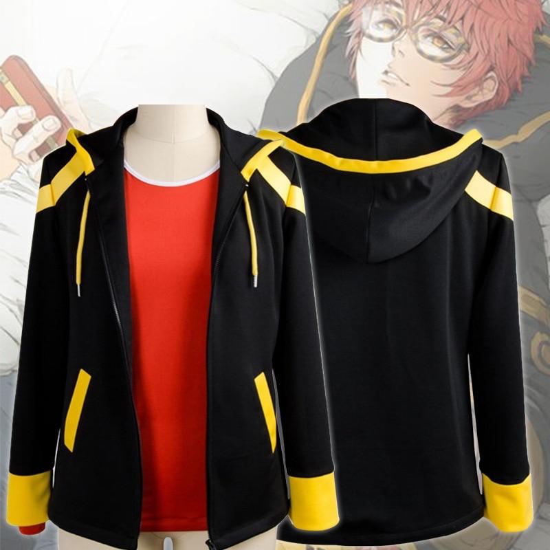 Game Mystic Messenger 707 Luciel Cosplay Costume Hooded Jacket Unisex Coat Tops