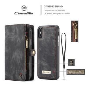 Image 3 - Luxus Magnetische Abnehmbare Fall Für iPhone 12 Mini 11 Pro XS Max XR X 7 8 6 s Plus SE 2020 leder Brieftasche Karte Telefon Taschen Abdeckung