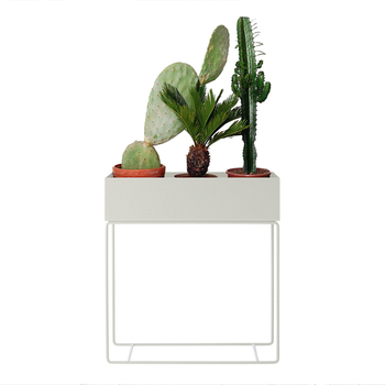 Nordic designer iron simple flower pot multifunctional flower stand floor stand living room indoor potted plant