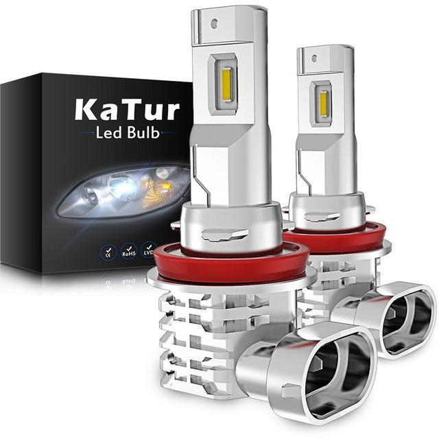 2 個 H11 H9 H8 フォグランプ電球 12 トヨタカローラボルボ XC60 XC90 S60 V70 S80 S40 v40 V50 XC70 V60 C70 H7 H4 Led 車のライト