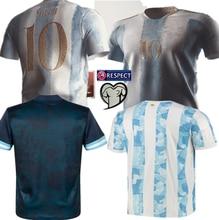 MESSI DYBALA new 2021 2022 ArgentinaES Shirt KUN AGUERO LO CELSO L. MARTINEZ MARADONA DI MARIA OCAMPOS OTAMENDI alta qualità