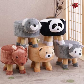 цены Animal Shoes Stool Home Sitting Baby Cute Cartoon Sofa Stool Creative Children Small Bench Low Chair