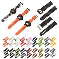 20/22/24/26mm colorido pulseira de pulso silicone para samsung para panerai Pulseira do relógio     -