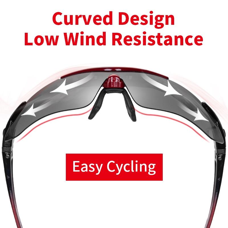 ROCKBROS Polarized Sports Men Sunglasses Road Cycling Glasses Mountain Bike USA