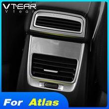 Vtear auto armlehne hinten air outlet abdeckung zubehör klimaanlage rahmen trim Für Geely Atlas Emgrand NL-3 Proton X70 2018 2019