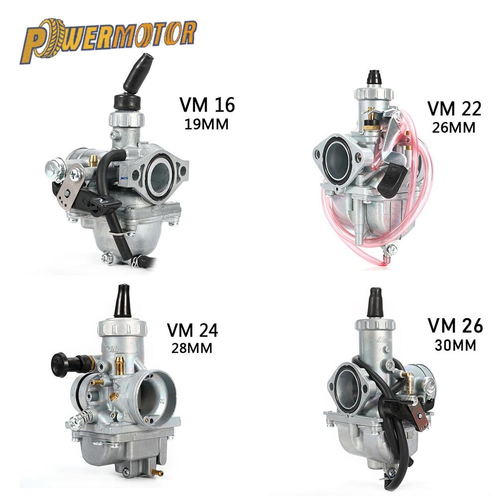 Mikuni carburetor N100.604 main jet injectors VM22//24//26 motorcycle TTR FZR BS