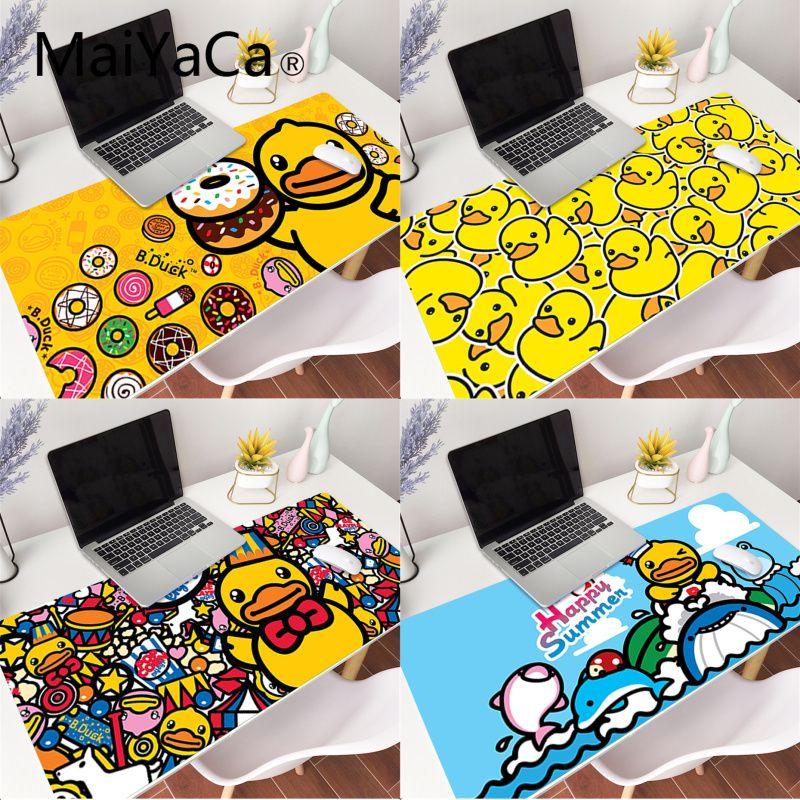 MaiYaCa My Favorite Baby Duck mouse pad gamer play mats Gaming Mouse Pad Large Deak Mat 900x400mm for overwatch/cs go