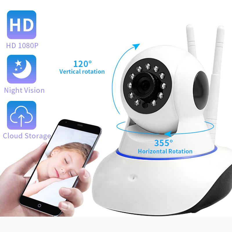 Valdus 1080P 720P kamera IP sieci bezprzewodowej w domu kamera ochrony Wifi kamera monitorująca Night Vision kamera telewizji przemysłowej 2mp niania elektroniczna baby monitor