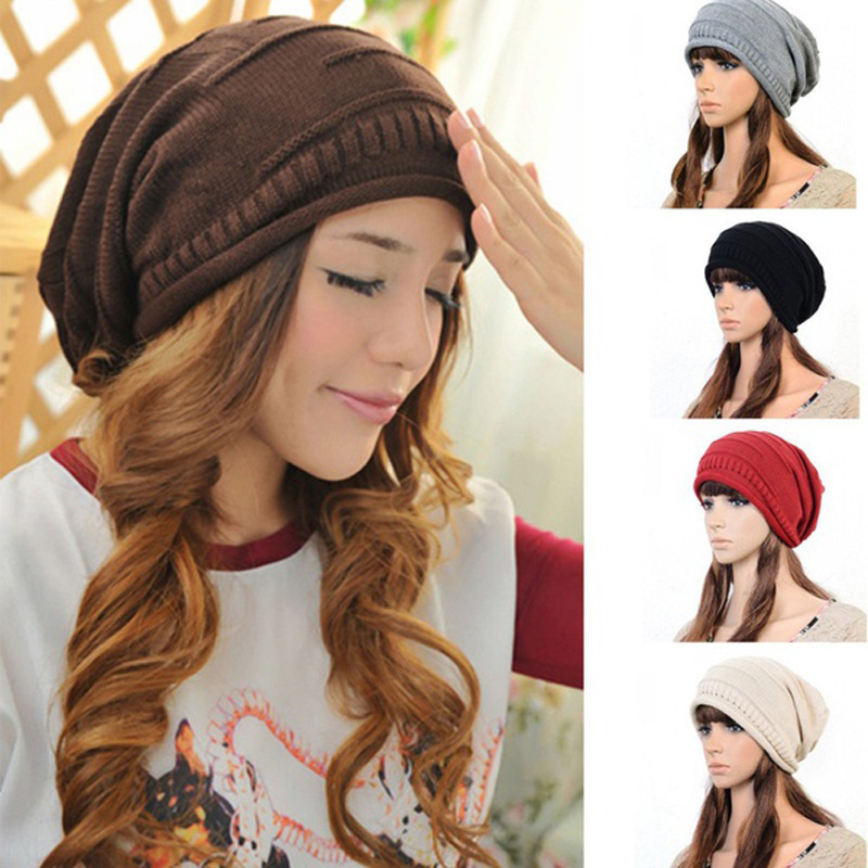 Protect Yourself From The Cold Winter With This Stylish Oversized Slouch Hat