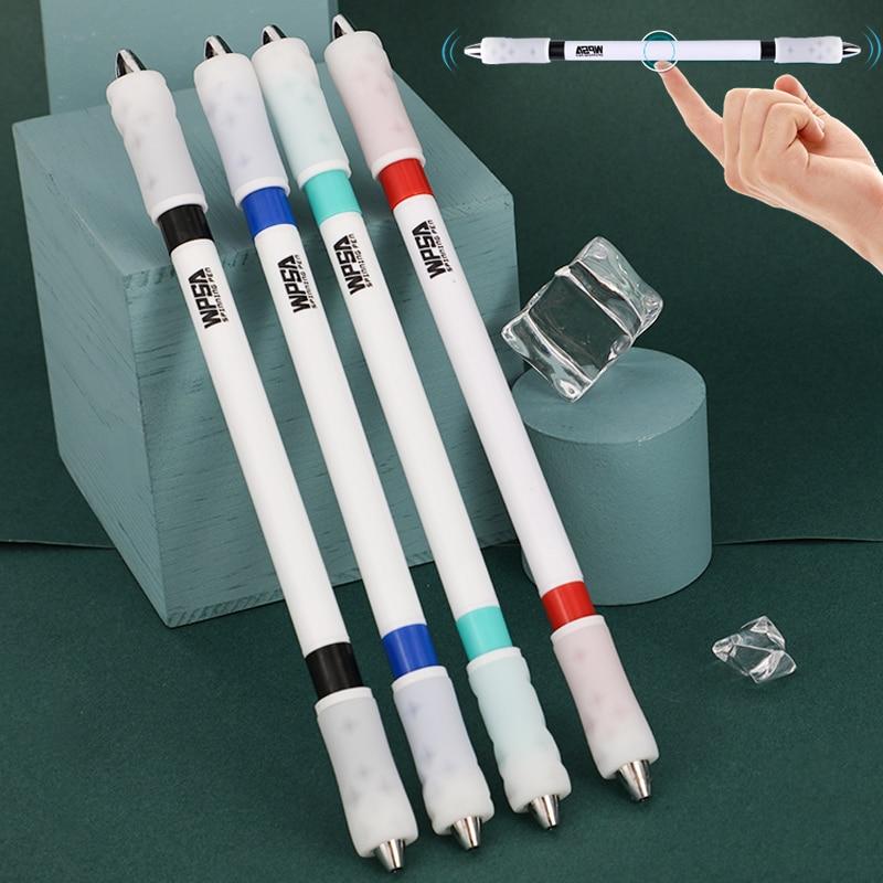 Ручка Zhigao для спиннинга, матовый стержень, милые игрушечные ручки для письма, ручки для школы, шариковые ручки, канцелярские принадлежности,...