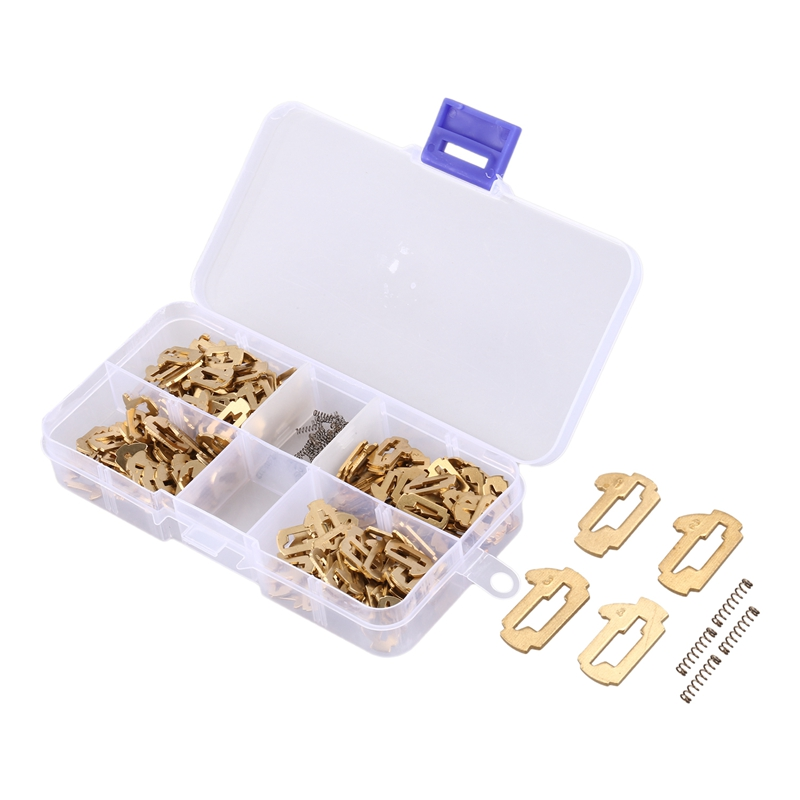 200Pcs/Lot For TOY43 Car Lock Repair Accessories Car Lock Reed Lock Plate For Toyota Camry/Corolla M096