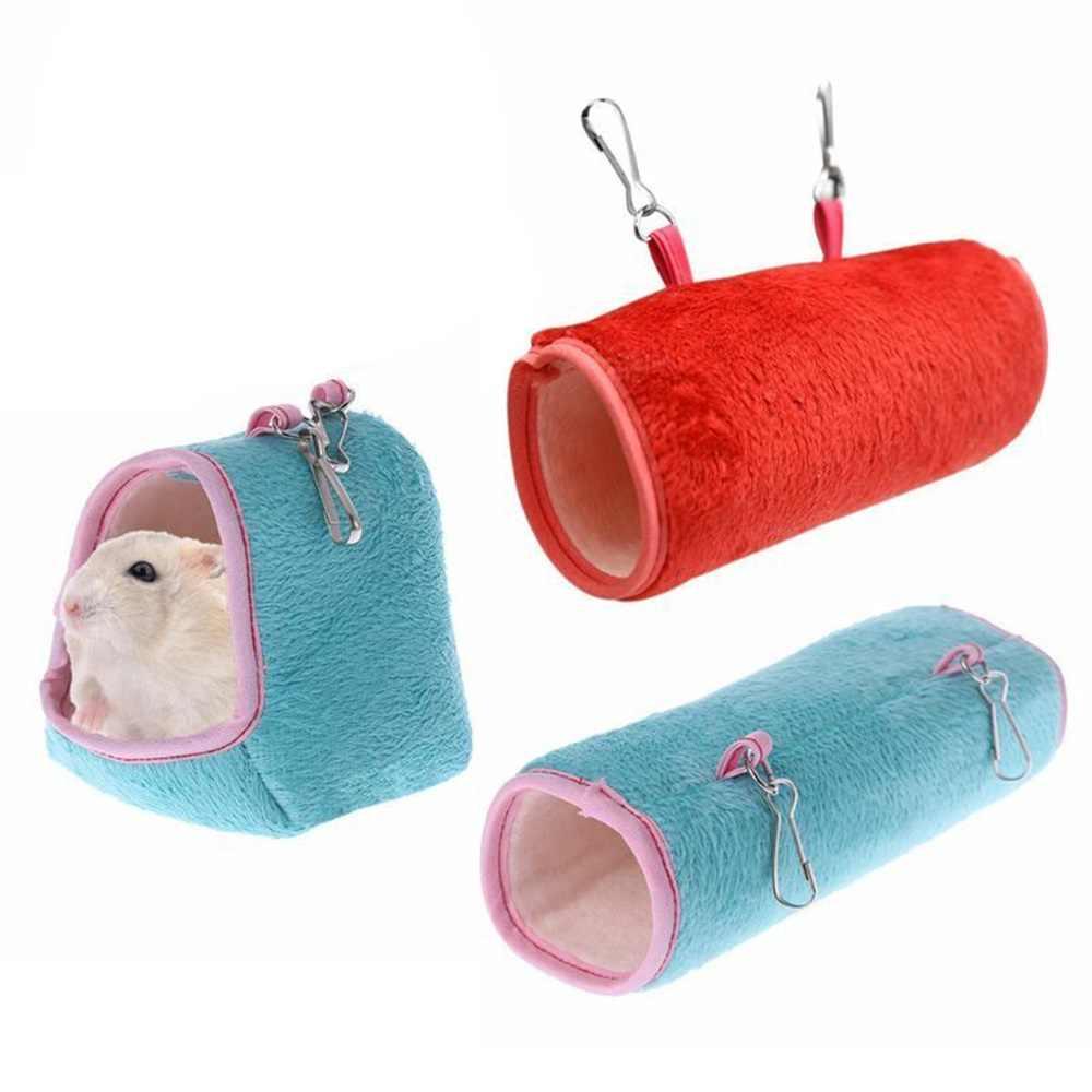 Heißer Hamster Hängen Haus Hängematte Käfig Schlaf Nest Haustier Bett Ratte Hamster Spielzeug Käfig Schaukel Pet Banana design Kleine Tiere