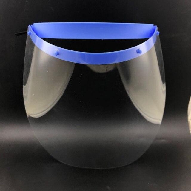 Transparent Flip-down Facial Screen Full Face & Eye Mask Protective Visor Маска Transparent Anti Drip Spit Motorcycle Dustproof