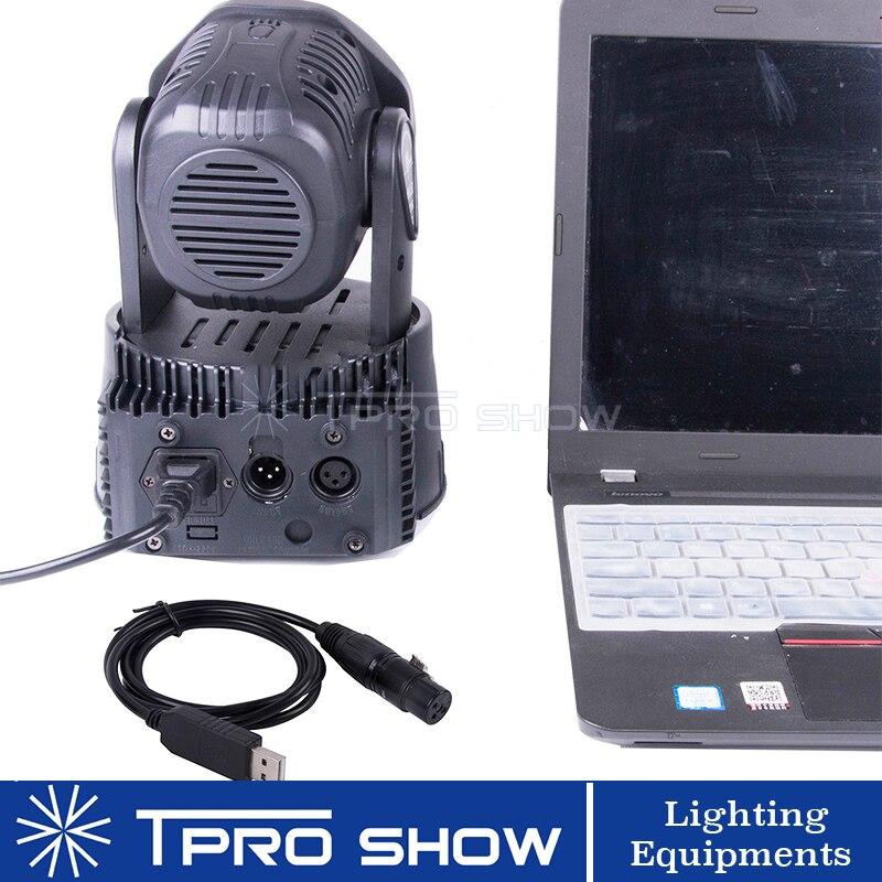 de luz de palco, computador, conversão de sinal, dimmer, luzes dj