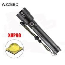 Светодиодный фонарик xhp902 xhp702 самый мощный 18650 26650