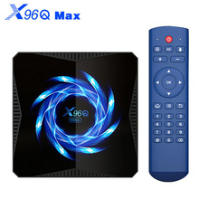 X96Q MAX Smart TV Box Android 10.0 Allwinner H616 4GB RAM 32GB 64GB ROM 4K HD Media Player 2.4G 5G WiFi Bluetooth Set top box