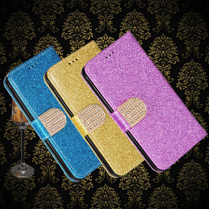 Bling Diamond Leather <font><b>Case</b></font> For <font><b>Nokia</b></font> 1 2 3 5 6 7 8 Sirocco 2.1 3.1 5.1 6.1 <font><b>7.1</b></font> 8.1 2.2 2.3 3.2 4.2 6.2 7.2 Plus 2018 phone cover image