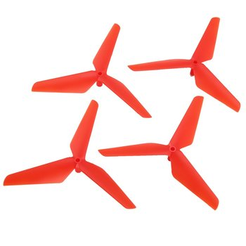 2 Pairs CW/CCW Propeller Props Blade for Syma X5C RC Drone Quadcopter Aircraft UAV Spare Parts Acces