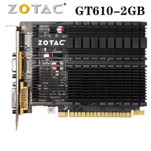 Graphics-Cards-Gpu Video-Card GDDR3 NVIDIA Pci-E-Used Gt610 2gb Geforce ZOTAC Gt 610