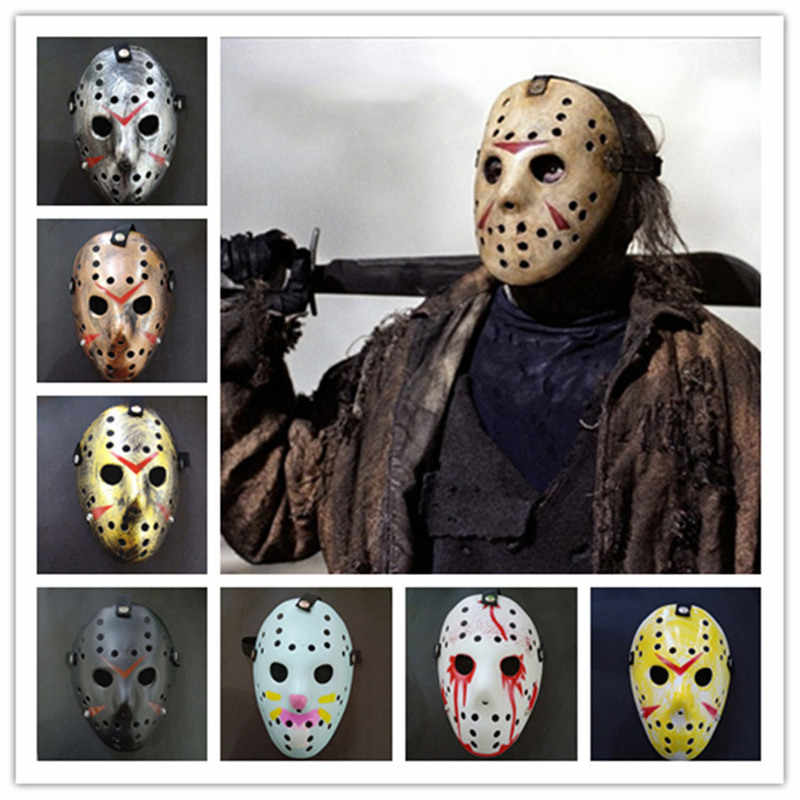 Scary Horror Halloween Hockey Black Freddy Voorhees Cosplay Jason  Festival Masquerade Party Masks Christmas