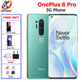 Brand New OnePlus 8 Pro 5G Mobile Phone Dual SIM 8/12G RAM 128/256G ROM Snapdragon865 6.78Fullscreen 48MP 4510mAh NFC Android10