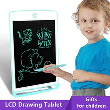 10 Polegada lcd escrita tablet digital placa de desenho almofadas de escrita eletrônico graffiti tablets brinquedos educativos das crianças