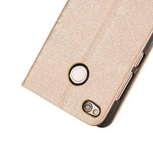 Image 3 - Leather Case For Xiaomi Redmi 3S Redmi 3X Flip Phone Case For Xiaomi Redmi 3 Business Book Case For Xiaomi Redmi 4X Back Cover