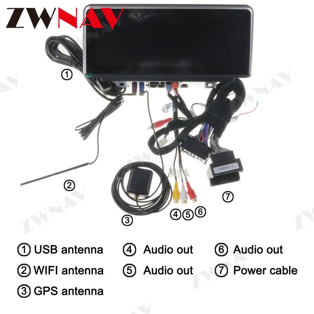 Android 10 Автомобильный мультимедийный плеер gps аудио navi