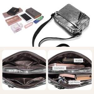 Image 5 - REALER genuine leather crossbody bags for women 2020 tassel shoulder messenger bag  ladies fashion purses and handbags design