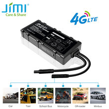 JIMI 4G GPS Tracker GV40 WIFI Hotspot Driving Behavior Waterproof JM-VL01 LTE Locator