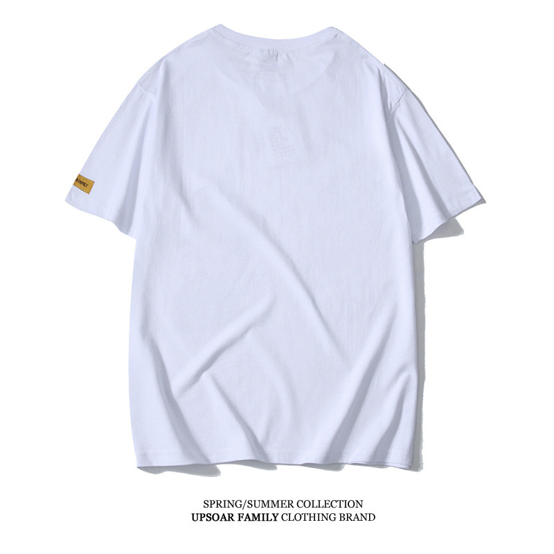 Kung Fu Bruce Lee Shirt Sports Short Sleeve Cotton Printed Jeet Kune Do Chinese Tai Chi