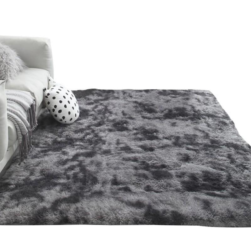 Thick Carpet Rugs Velvet-Mat Bed-Room Bedside Home-Decor Fluffy Soft Children for Plush-Rug