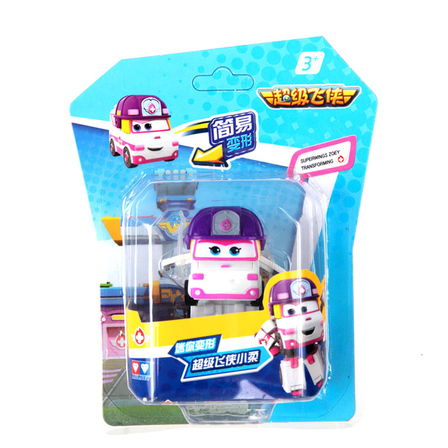 31 Style 2020 New Mini Airplane ABS Robot toys Action Figure Super Wing Transformer Jet Animation Children Kids Gift