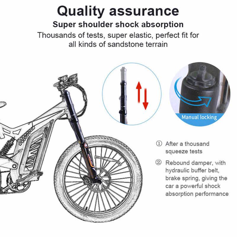 EZBIKE 1500W électrique VTT gros pneu neige vélo puissant haute 9 vitesse moteur entraînement hors route lithium batterie plage ebike
