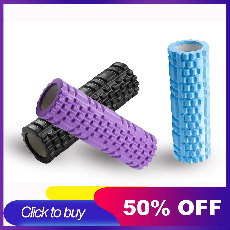 Yoga Column Gym Fitness Foam Roller Pilates Yoga Exercise Back Muscle Massage Ro