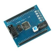 Xilinx XC9572XL CPLD مجلس التنمية Brassboard لوحة تعليمية JTAG واجهة تيار مستمر امدادات الطاقة مع التبديل
