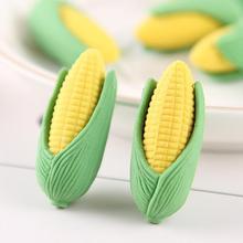 2 шт мультяшный ластик в форме кукурузы нетоксичный карандаш резиновый ластик канцелярские товары школьные офисные принадлежности подарки Kawaii Ластики для детей