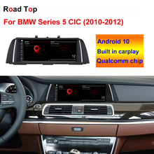 """10,25 """"Android 10 OS Touchscreen forBMW Serie 5 F10 F11 CIC 2010 2012 Mit Multimedia Player Stereo display GPS Navigation"""
