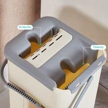 Mop com balde spray piso de água mais limpo chão casa cozinha pisos de madeira preguiçoso companheiro mop para lavagem squeeze mops